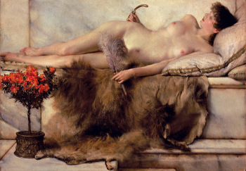 Lawrence Alma-Tadema, The Tepidarium (1881)